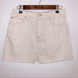 BDG urban outfitters off white skirt size medium